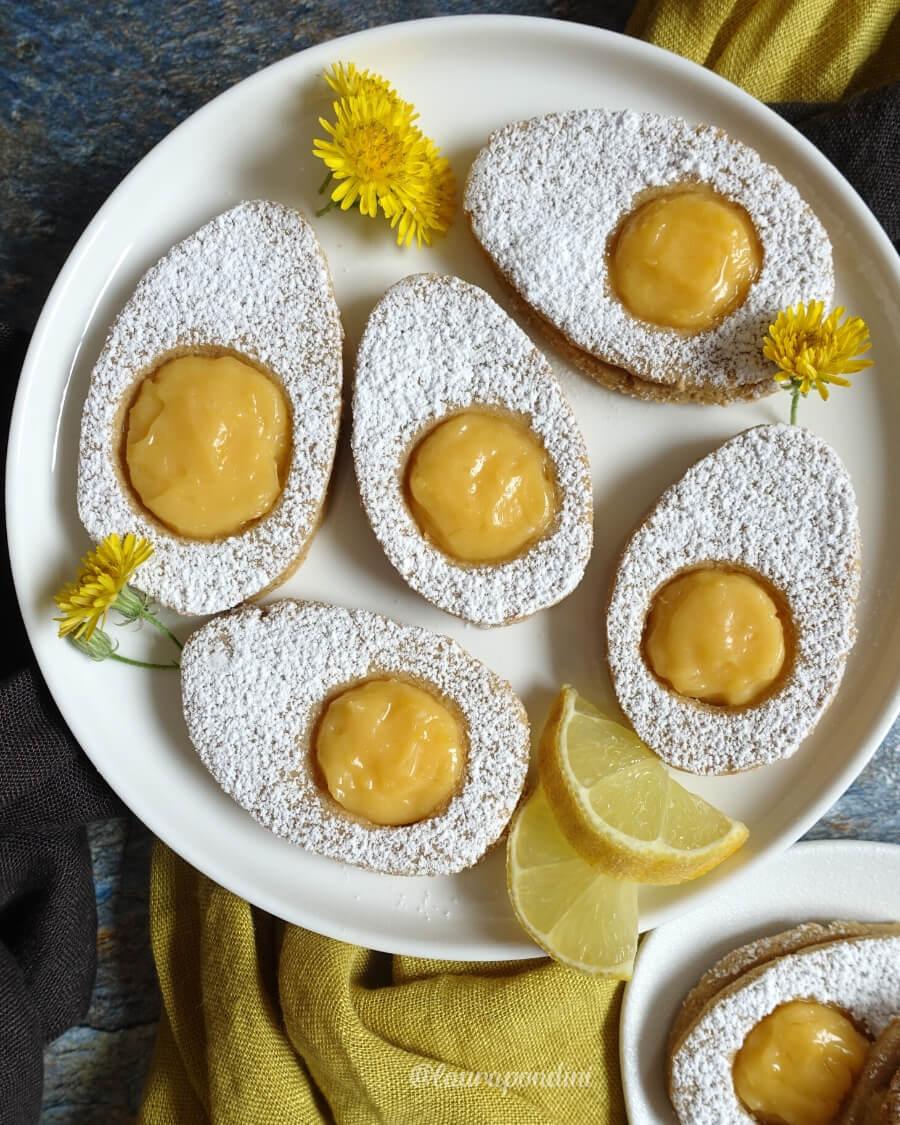 Biscotti di Pasqua a forma di uovo alla coque ricetta fit