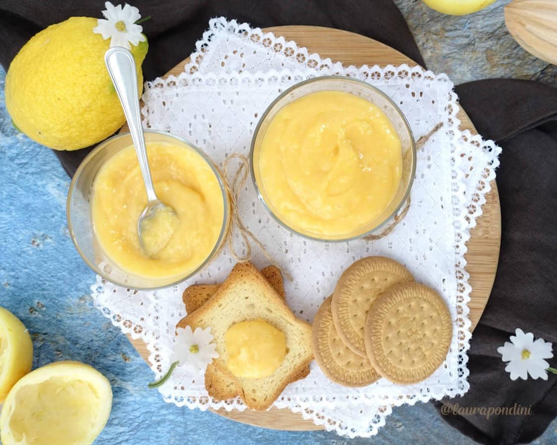 Lemon Curd: la Ricetta senza burro della Crema al limone inglese