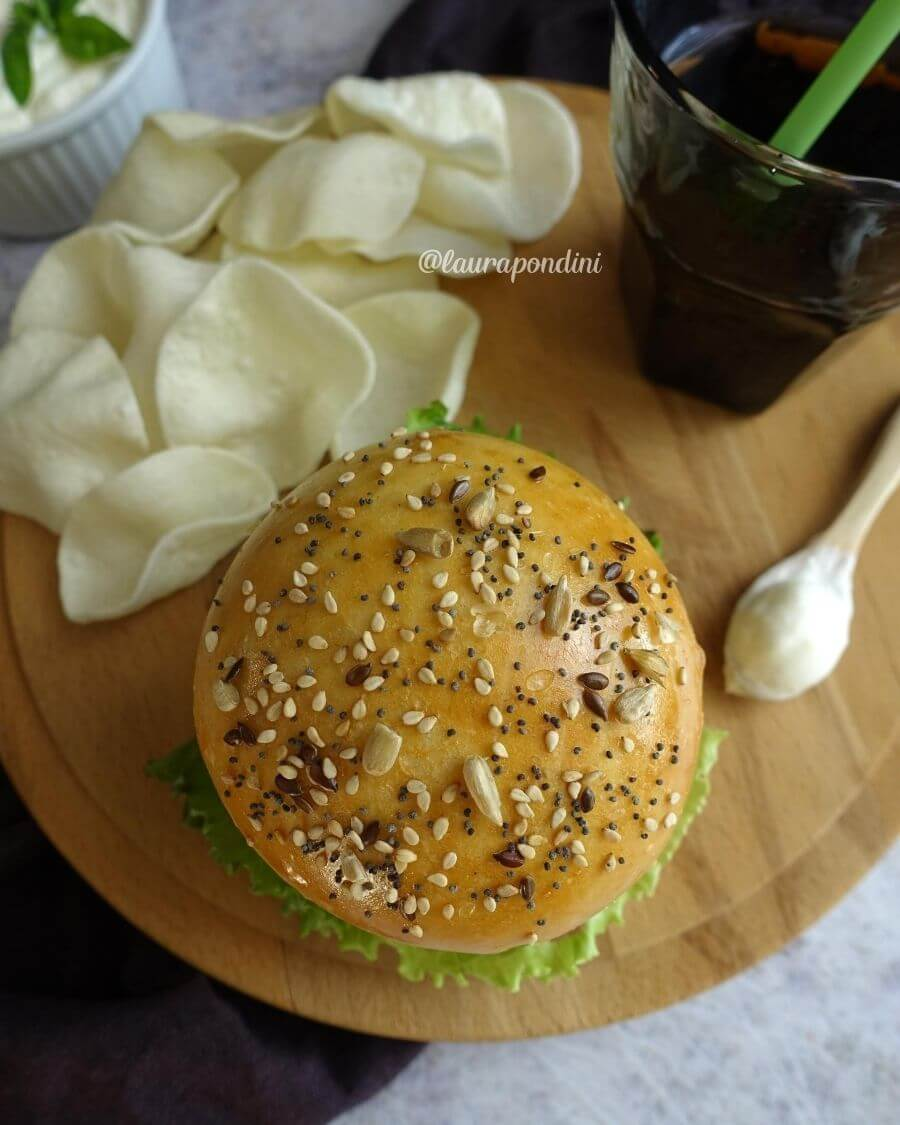 Panini per hamburger: la ricetta sana senza lattosio