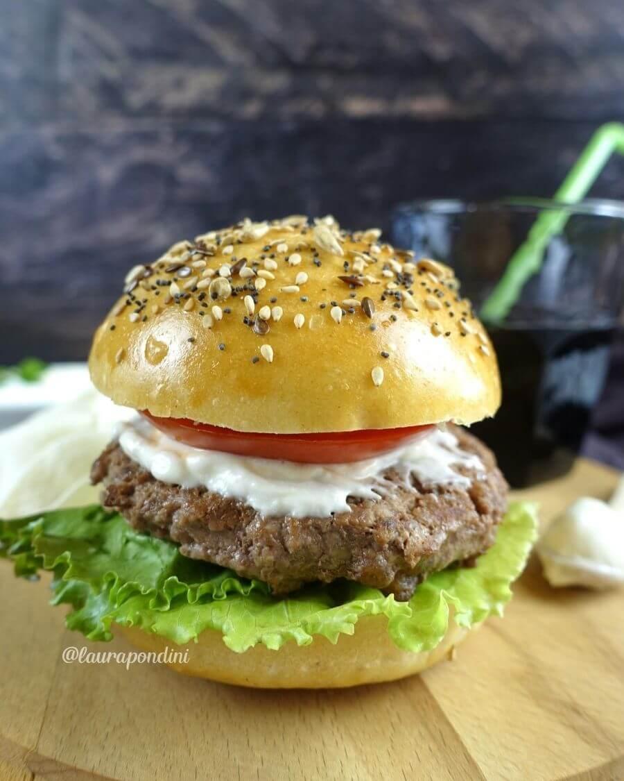 Panini per hamburger: la ricetta light veloce