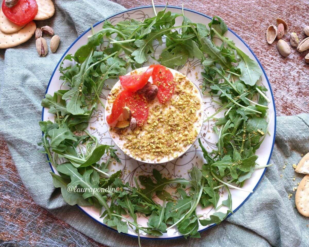 Cheesecake salata senza cottura: la Ricetta fit veloce