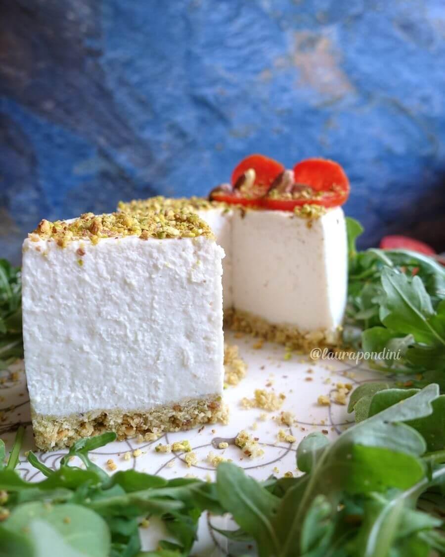 Cheesecake salata senza cottura: la ricetta facile e veloce