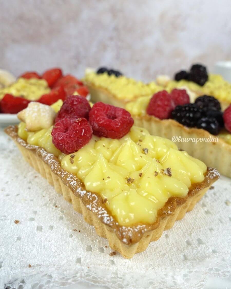 Crostatine con lemon curd: la Ricetta light senza uova