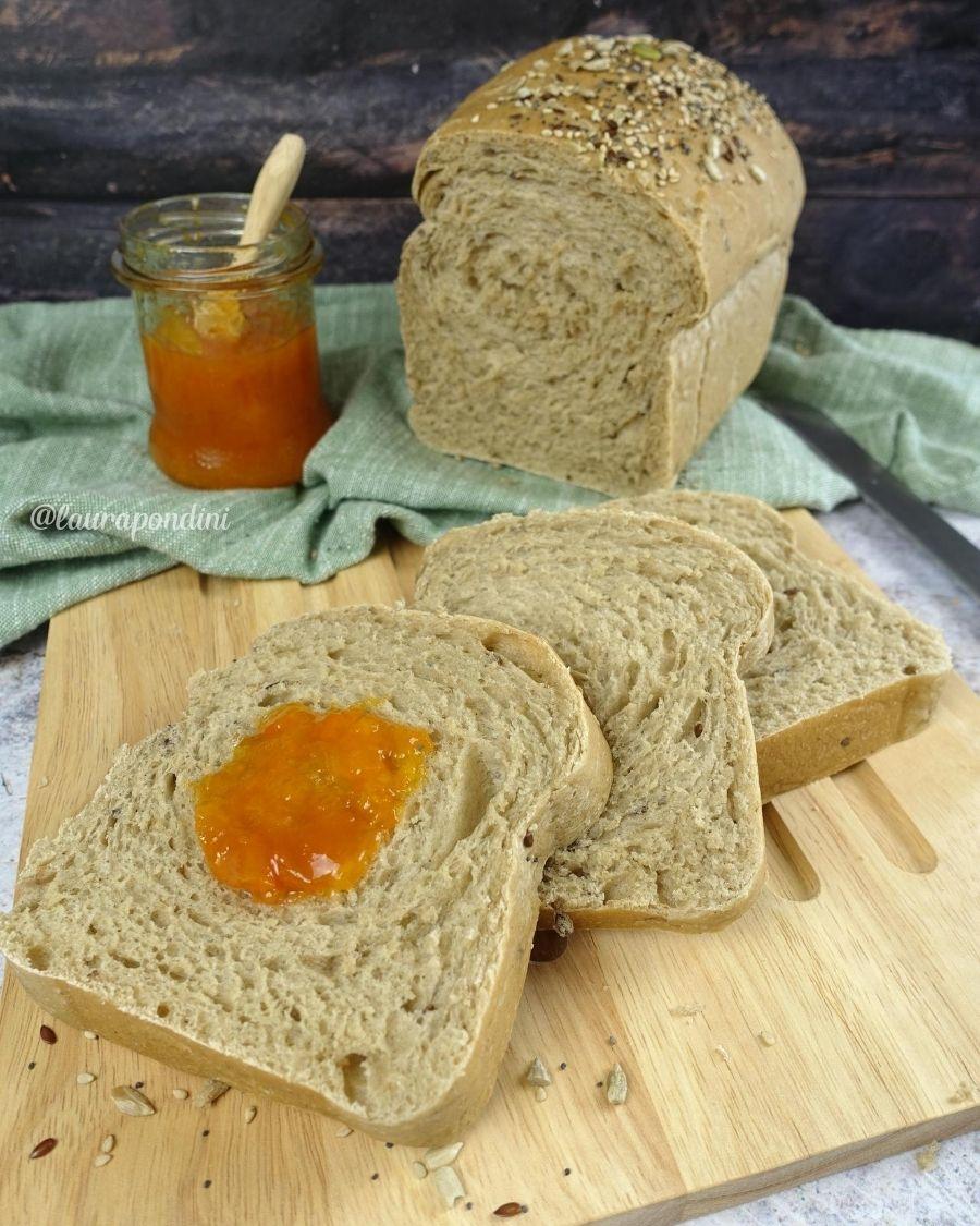 Pan Bauletto integrale fatto in casa: la Ricetta fit