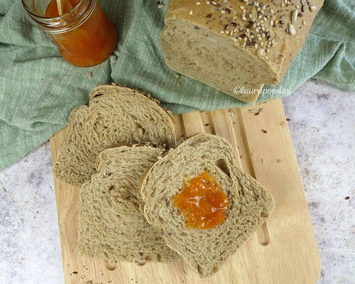 Pan Bauletto integrale fatto in casa: la Ricetta facile