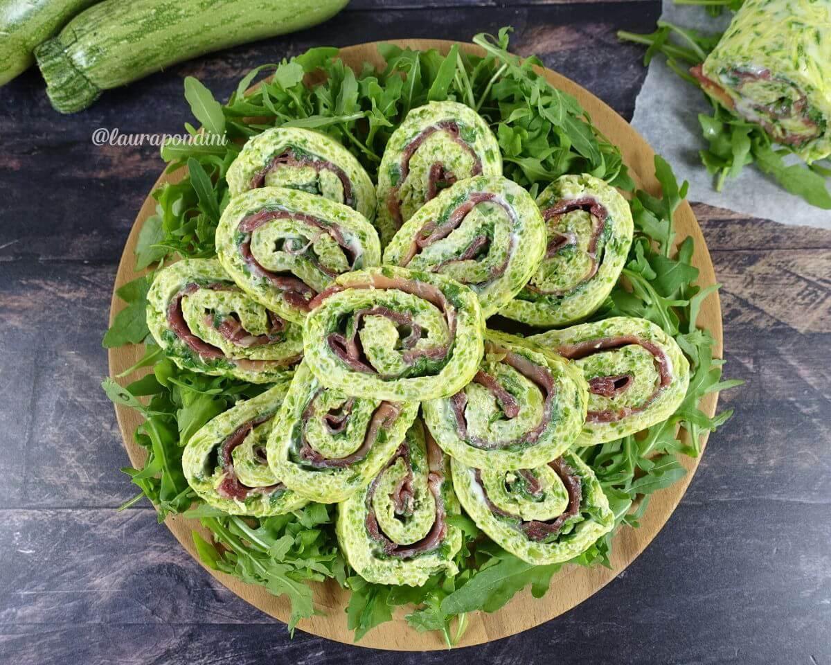 Rotolo alle zucchine farcito: la Ricetta fit facile e veloce
