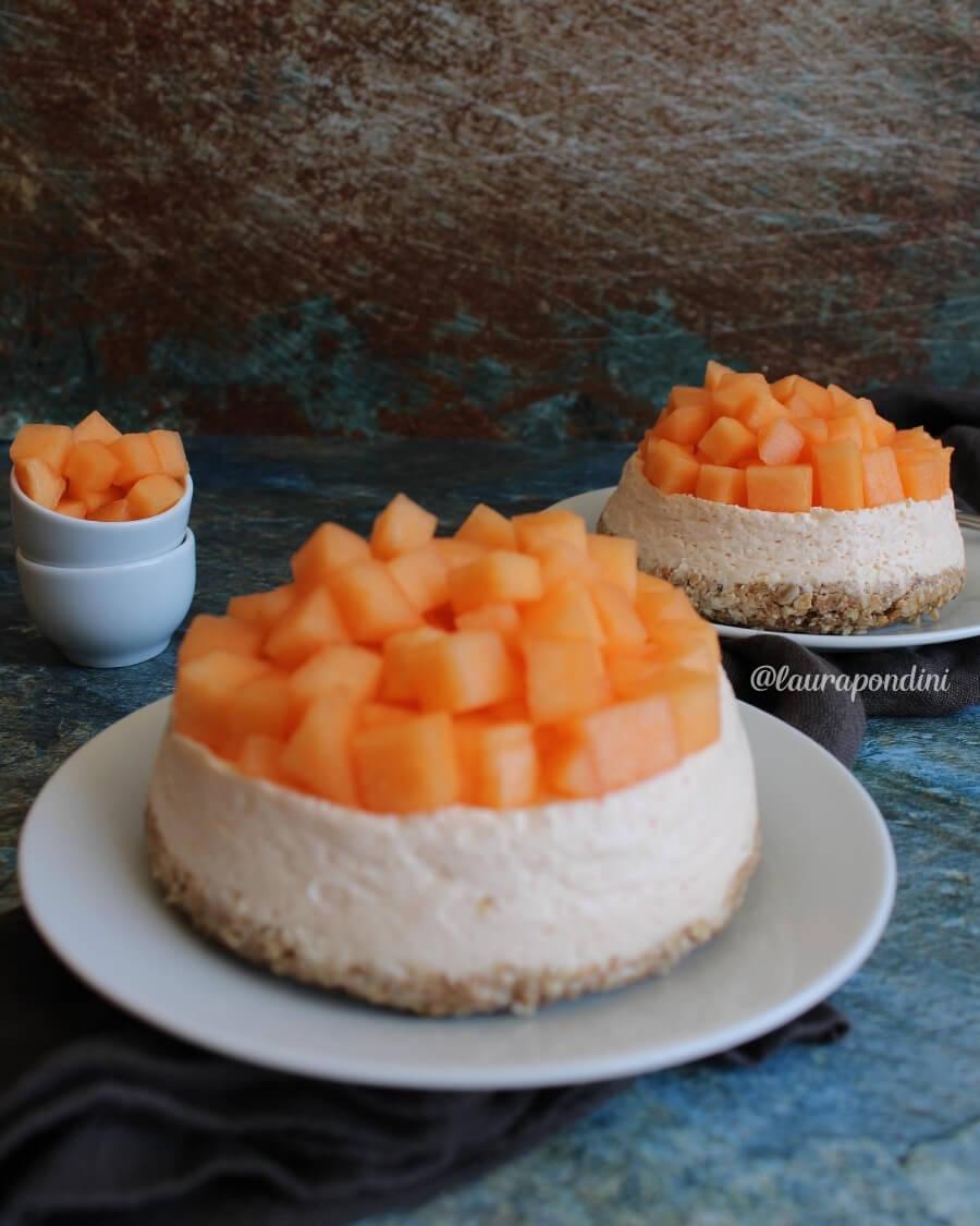 Cheesecake al melone: la Ricetta veloce senza zucchero