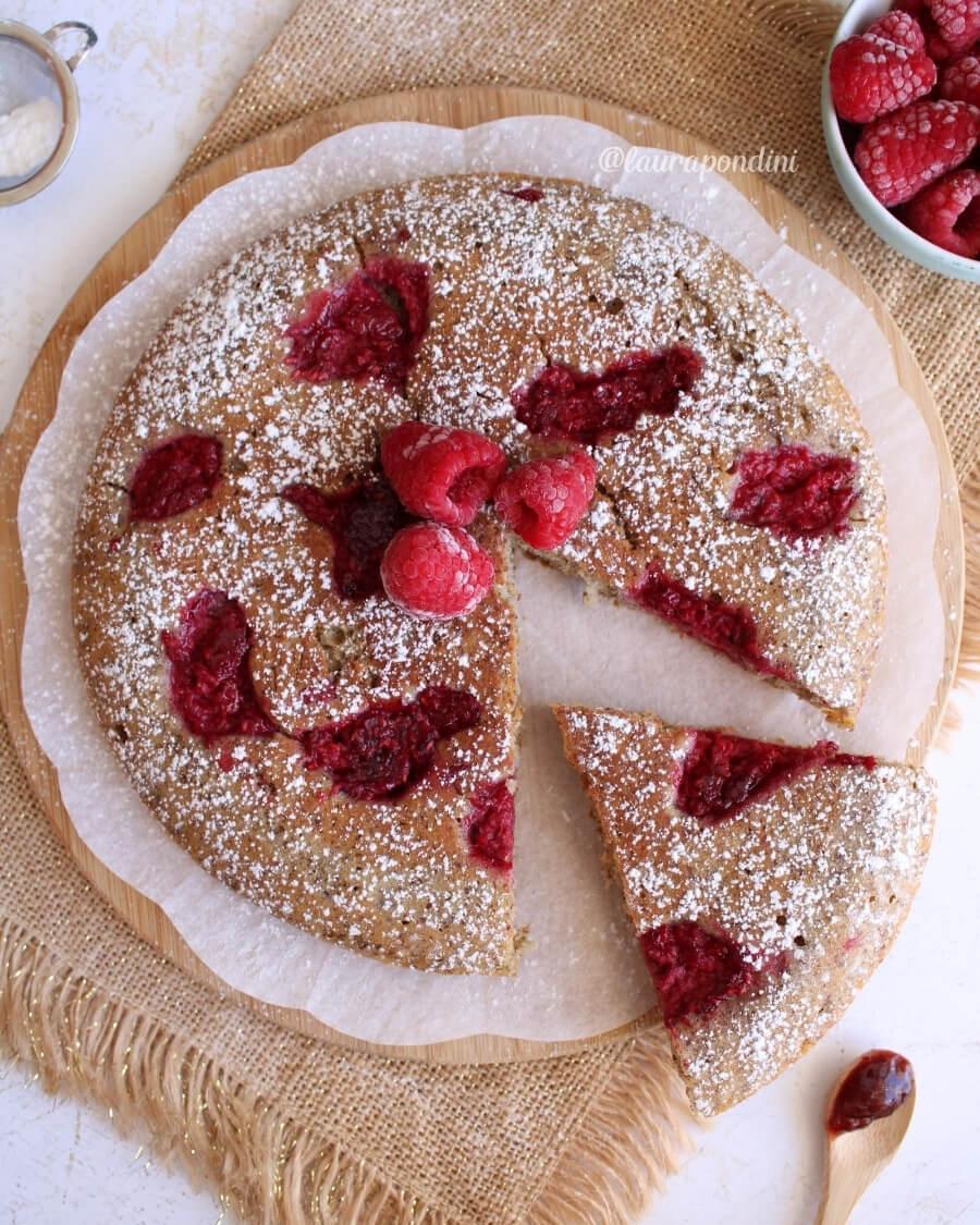 Torta cotta in padella: la Ricetta vegana e senza glutine