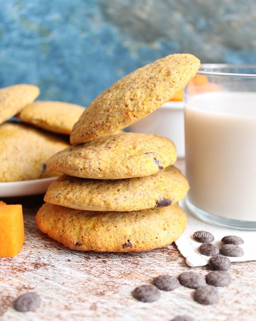 Biscotti morbidi alla zucca: la Ricetta fit senza burro
