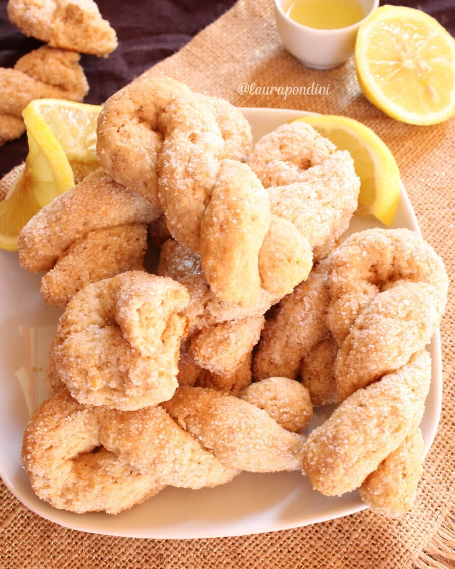 Biscotti al limone: la Ricetta light senza uova
