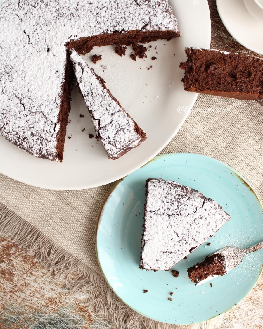 Torta senza glutine al cacao: la Ricetta senza burro