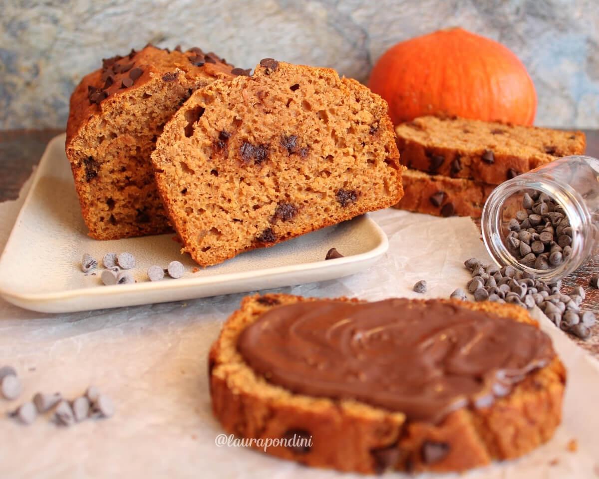 Pumpkin Bread: la Ricetta fit del plumcake alla zucca