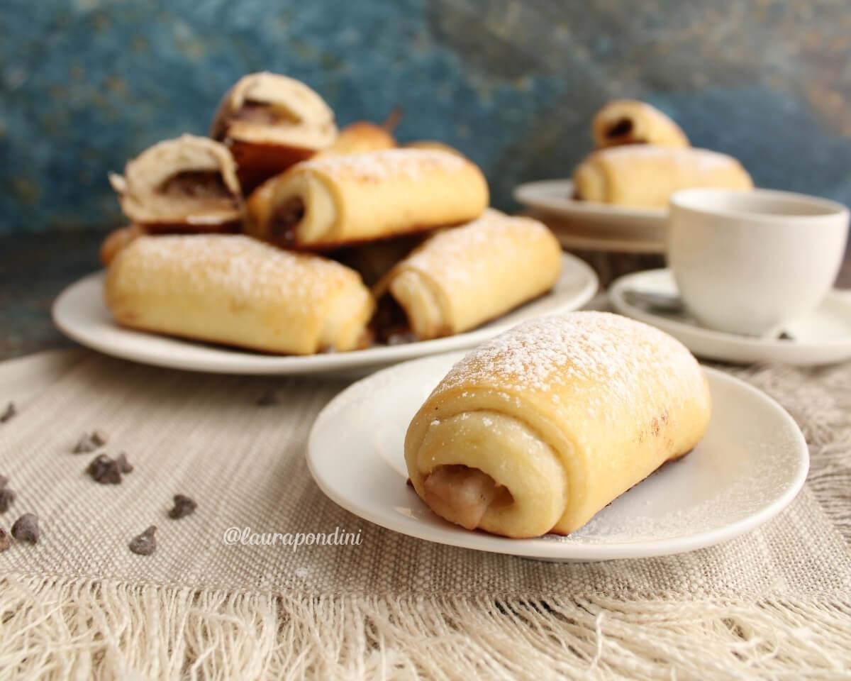 Saccottini pere e cioccolato: la Ricetta fit con lievito madre
