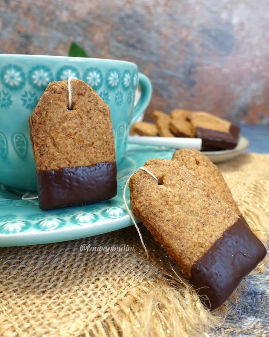 Biscotti bustina di tè ricetta fit