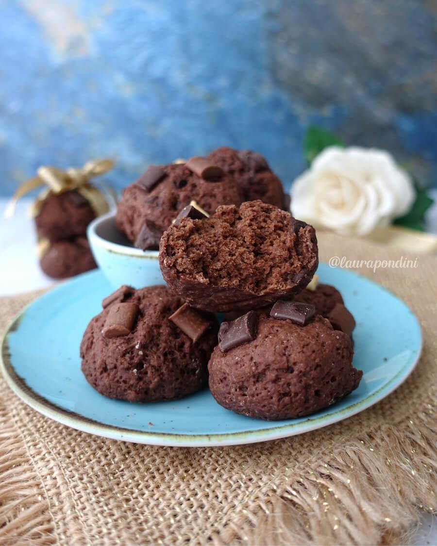 Biscotti morbidi al cacao senza burro