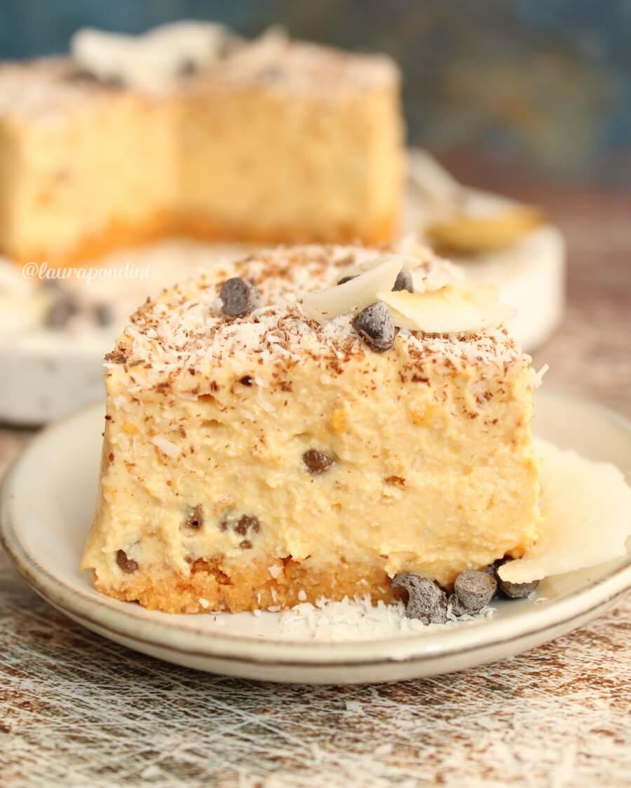 Cheesecake alla zucca senza cottura: la Ricetta fit