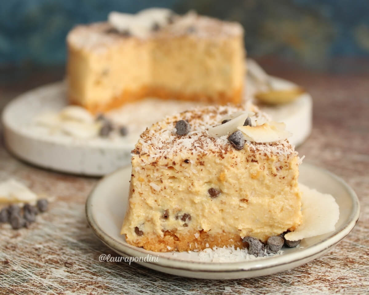Cheesecake alla zucca senza cottura: la Ricetta cremosa senza burro