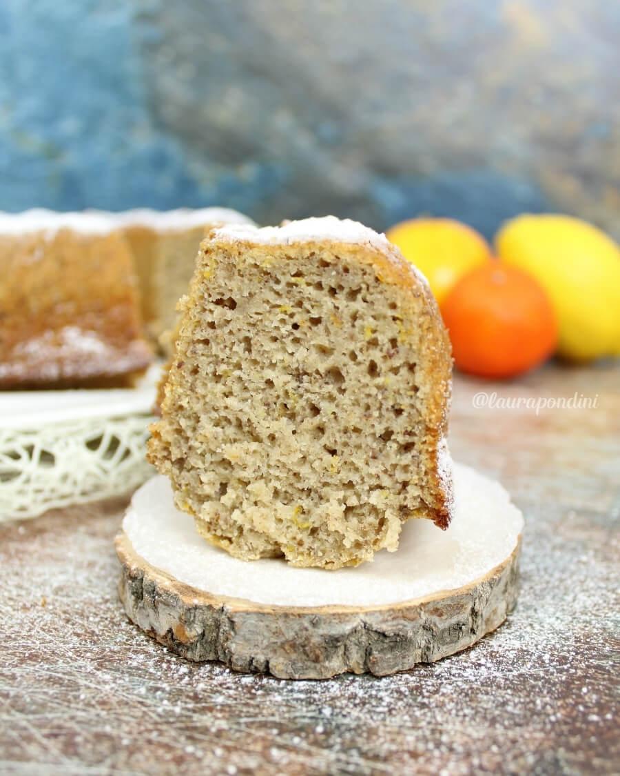 Ciambella di grano saraceno ricetta fit