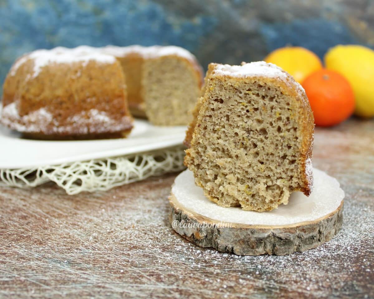 Ciambella di grano saraceno agli agrumi: la Ricetta senza glutine
