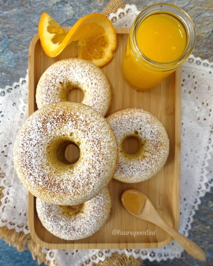 Ciambelle miele e arancia: soffici e gluten free