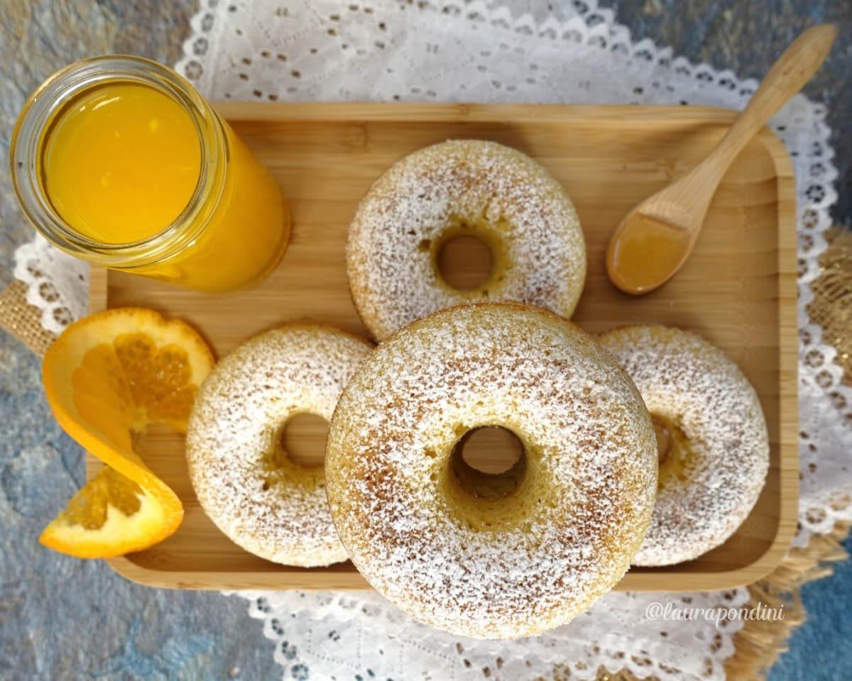 Ciambelline miele e arancia: la Ricetta senza burro e senza glutine
