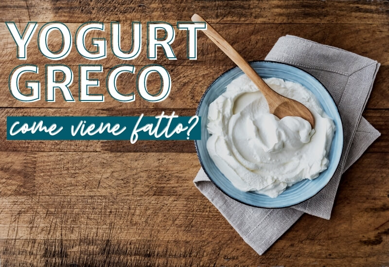 Yogurt greco come viene fatto