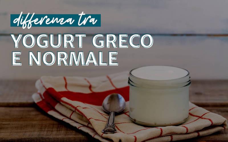 Differenza tra yogurt greco e normale