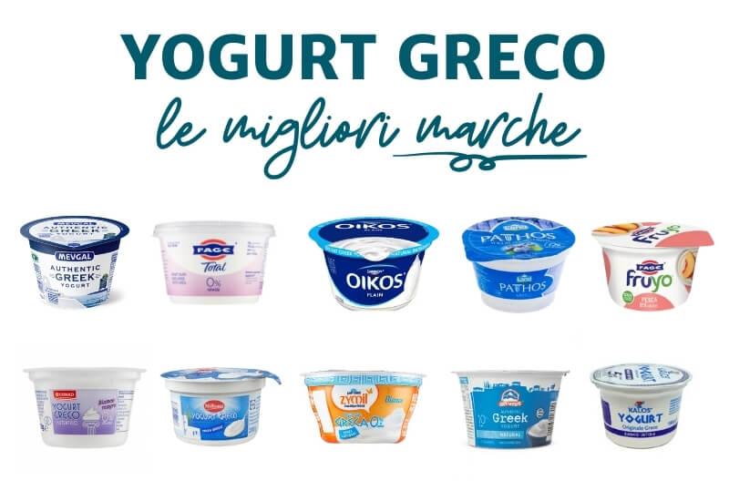 Le migliori marche di yogurt greco