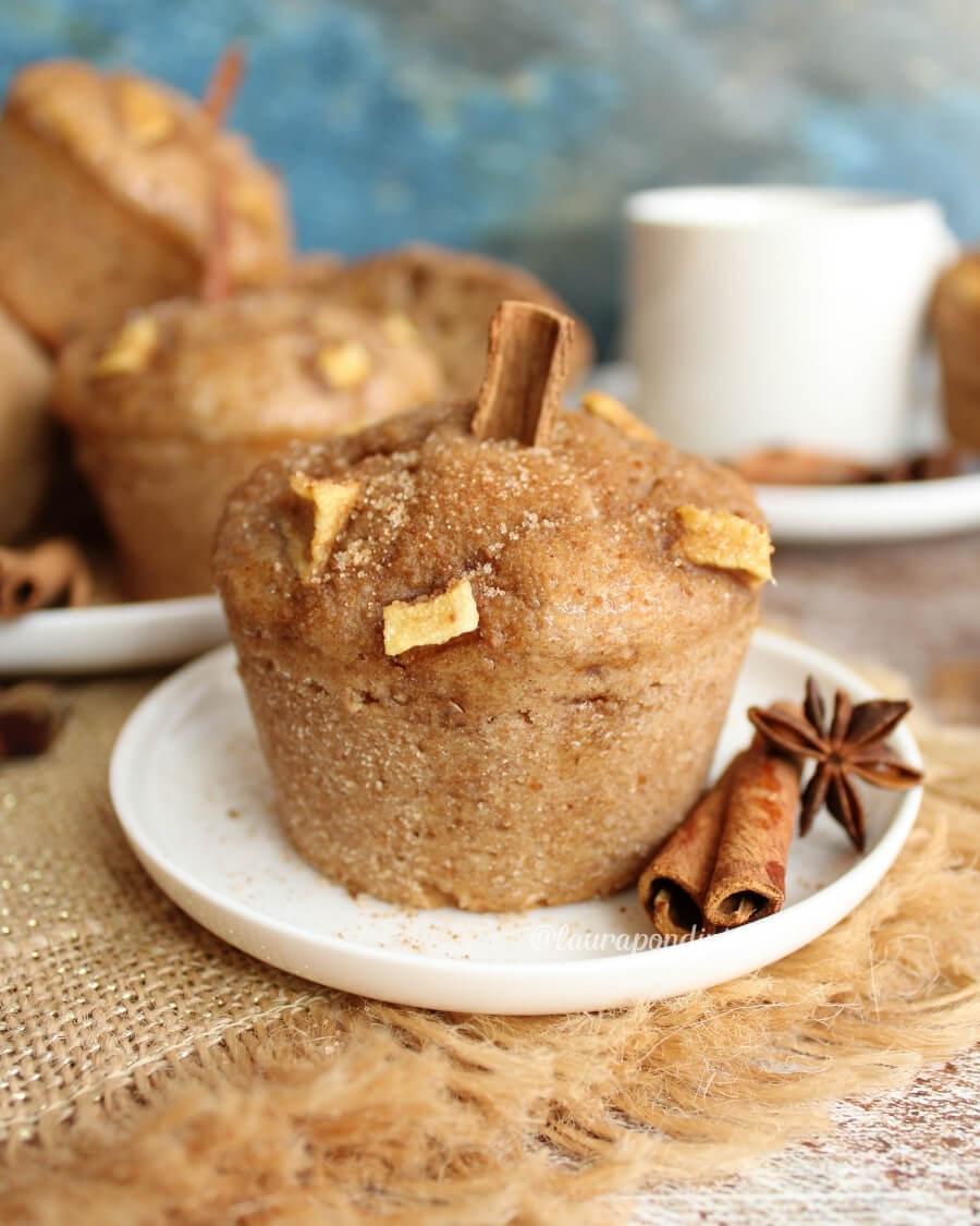 Muffins alla cannella: la Ricetta light senza burro