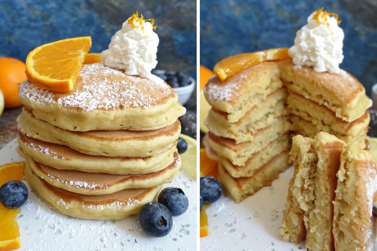 Ricetta Pancake Ipocalorici.Pancakes Ricotta E Limone La Ricetta Facile E Leggera Laura Pondini