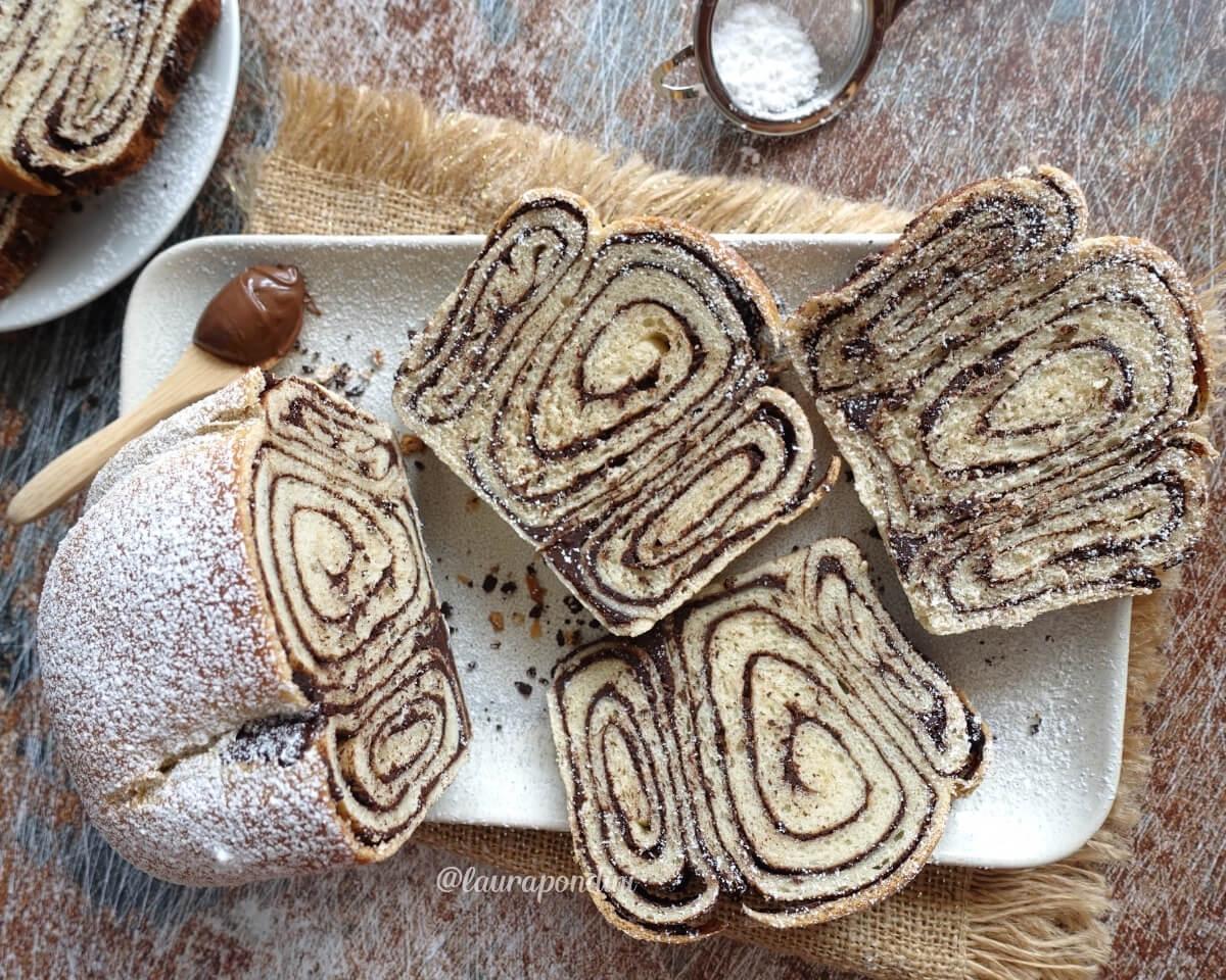 Povitica Bread al cioccolato: la Ricetta vegan