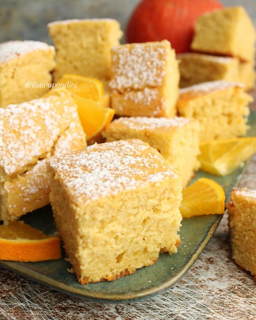 Torta soffice alla zucca: ricetta light e proteica