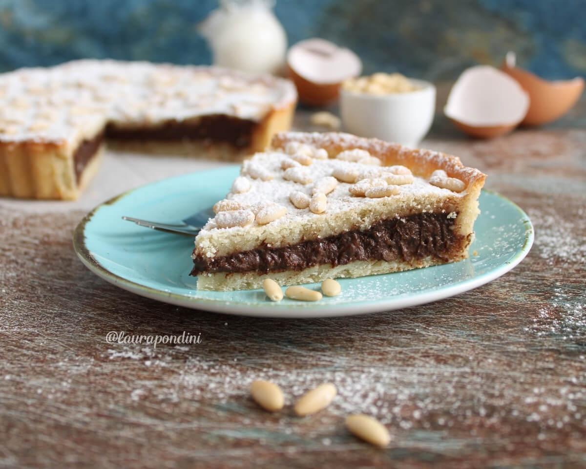 Torta della nonna con crema al cioccolato: la Ricetta light