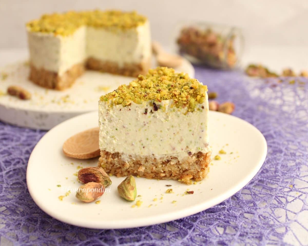 Cheesecake light al pistacchio: la Ricetta senza gelatina