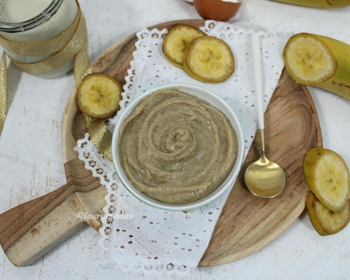 Crema pasticcera alla banana: la Ricetta leggera