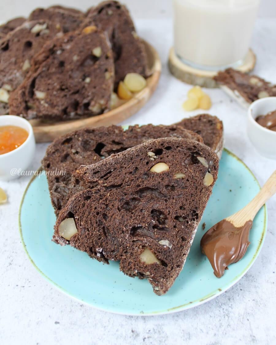 Pane licoli, cacao e noci, ricetta