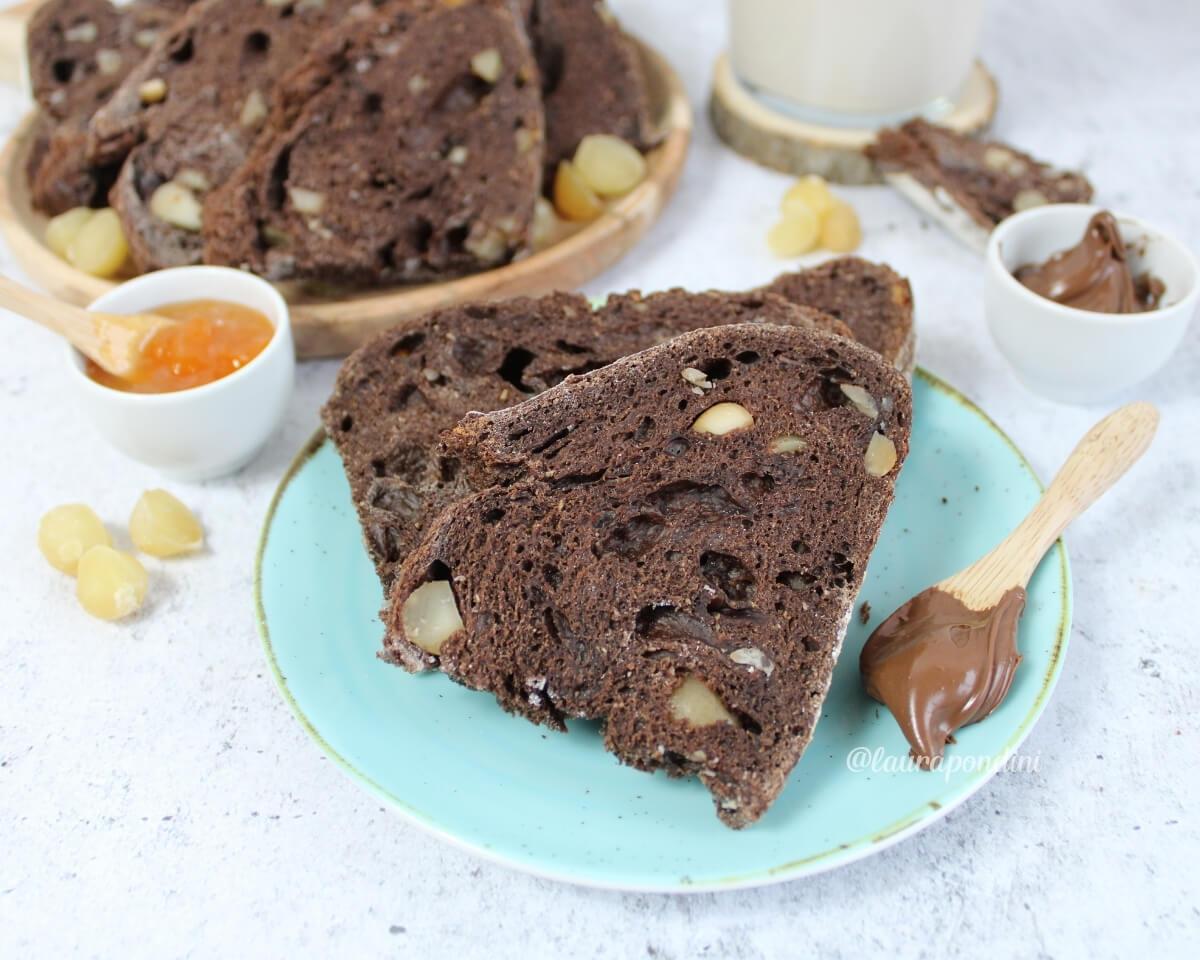 Pane al cacao e noci: la Ricetta con lievito madre