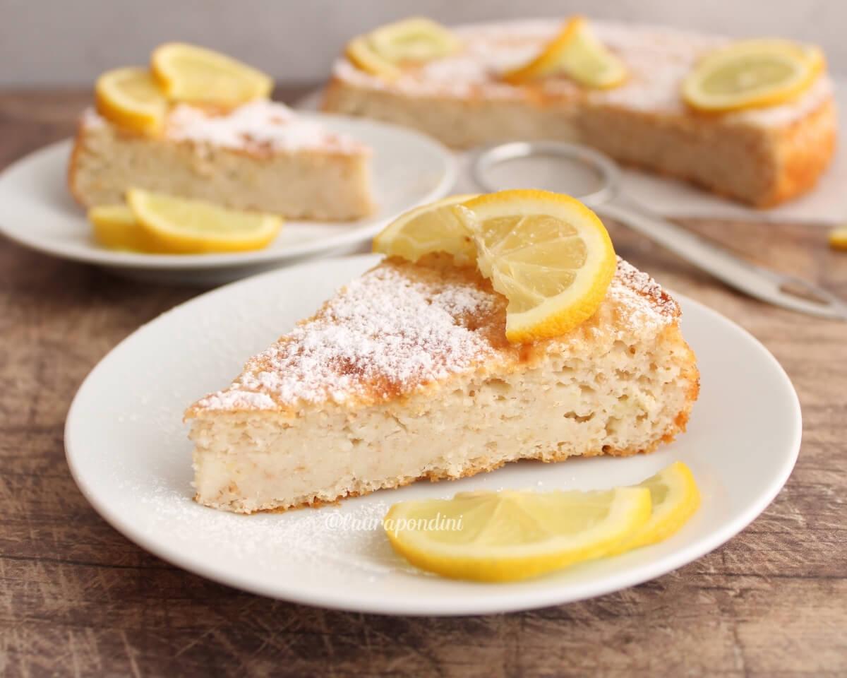 Torta 12 cucchiai al limone: la Ricetta light senza burro