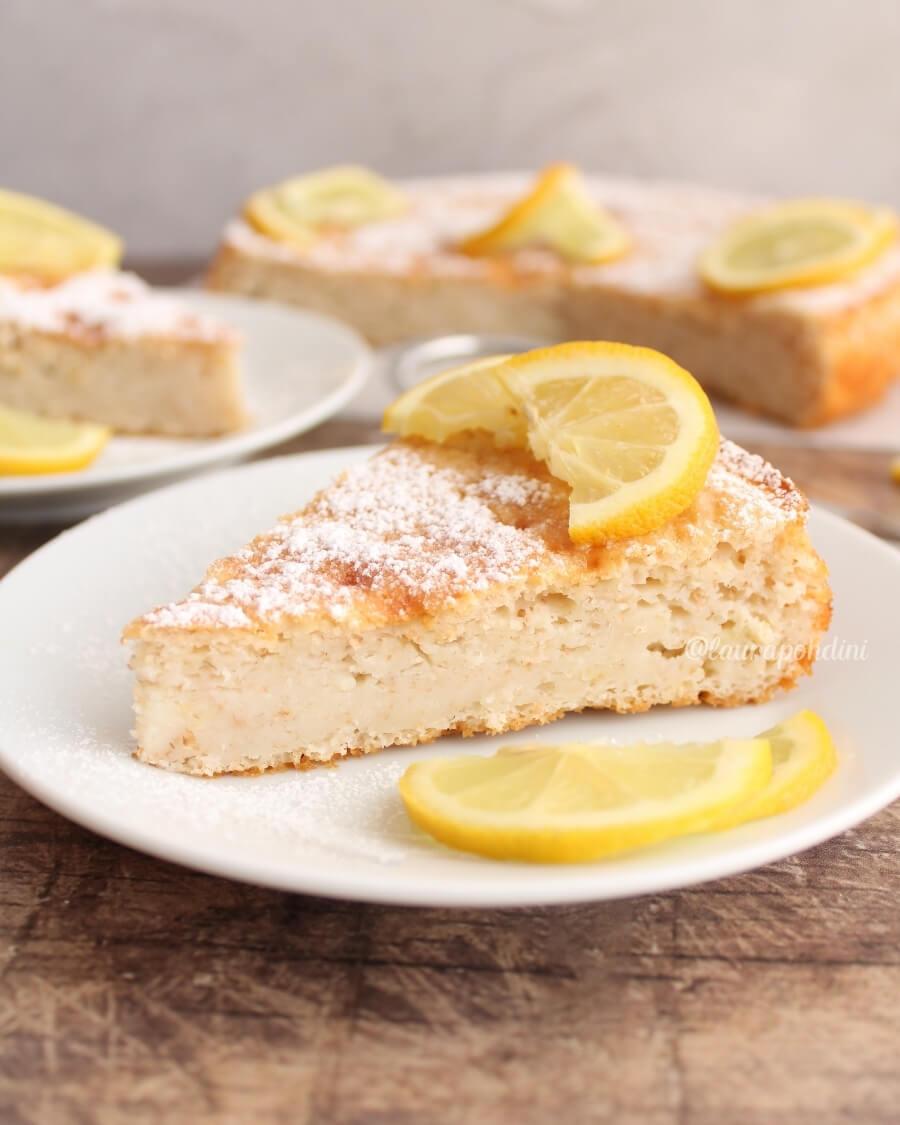 Torta 12 cucchiai limone