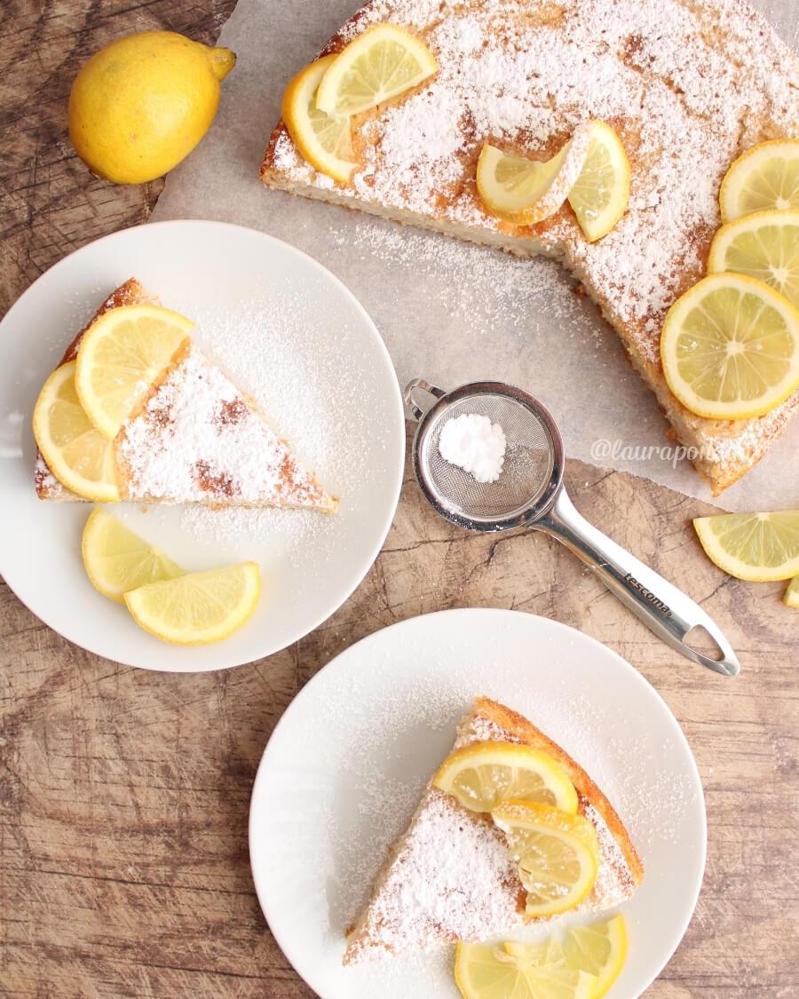 Torta limone 12 cucchiai ricetta