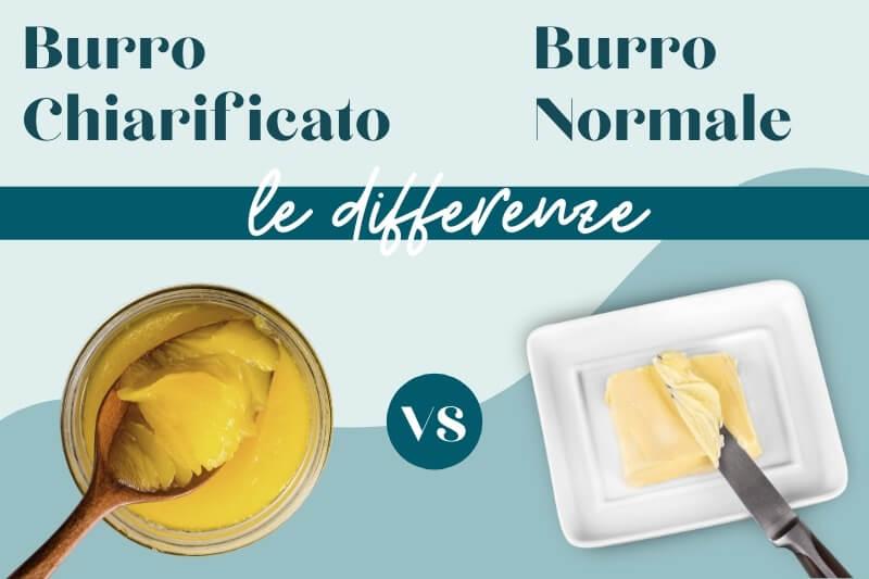 Differenze tra burro chiarificato e burro normale