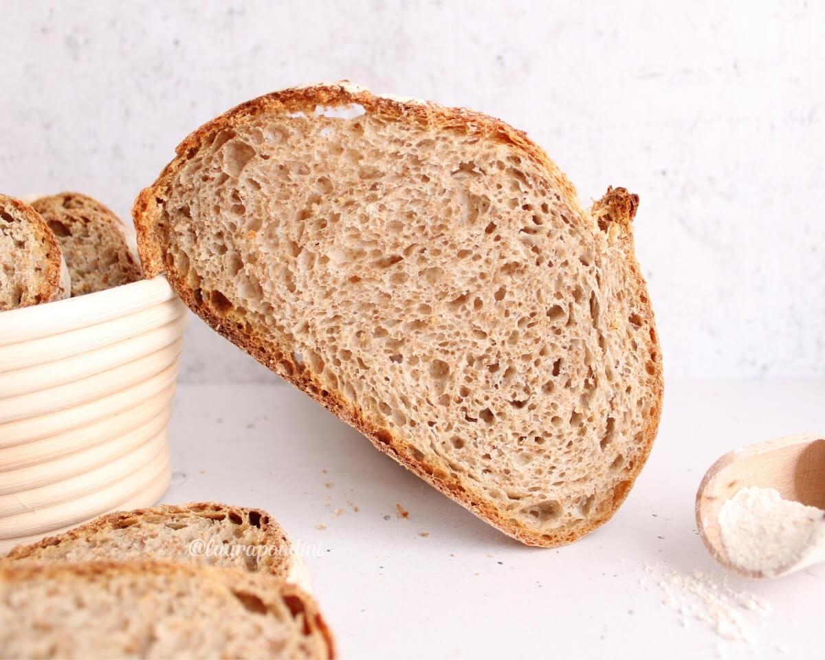Pane 100% integrale: la Ricetta con lievito madre