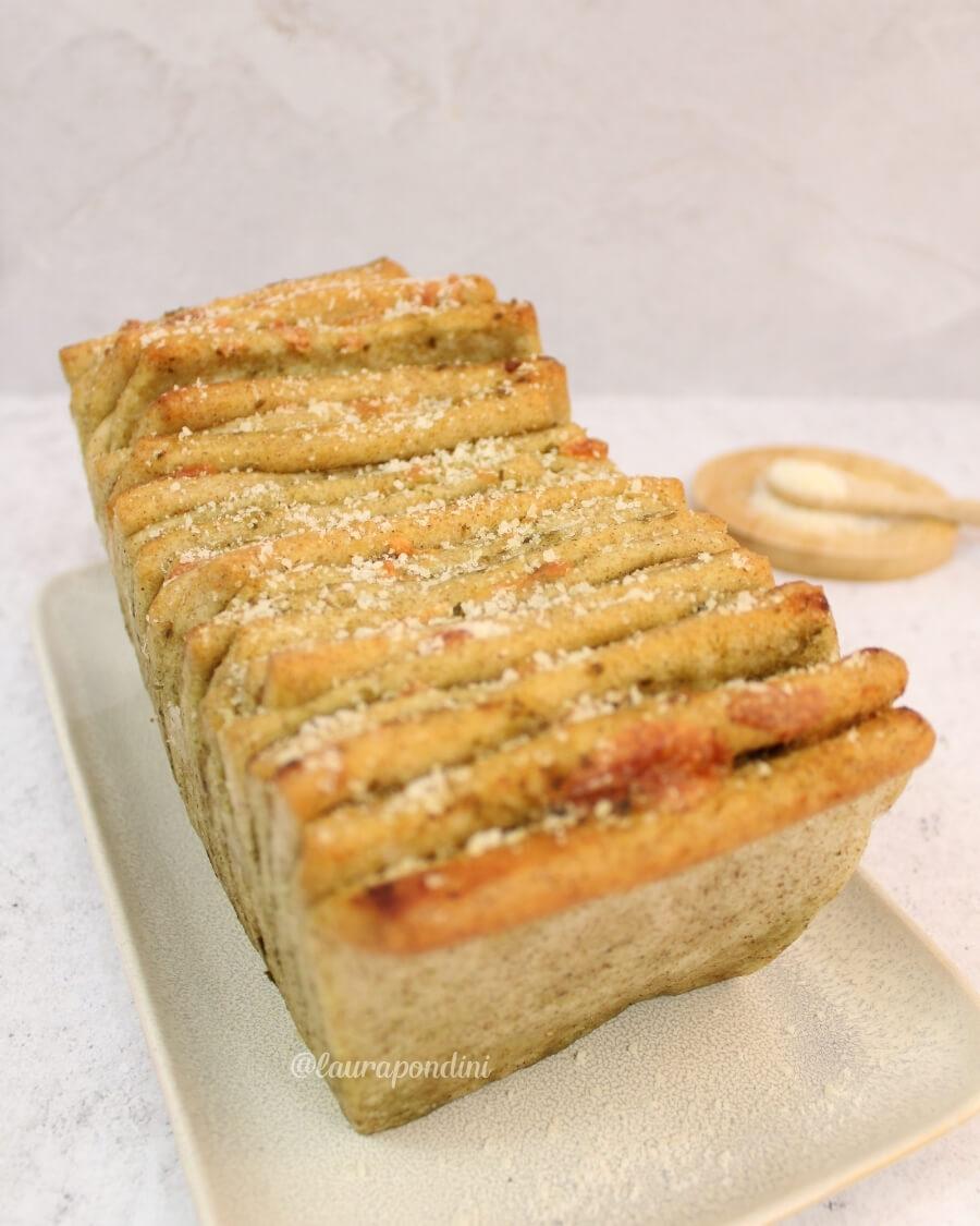 Pull apart bread ricetta light