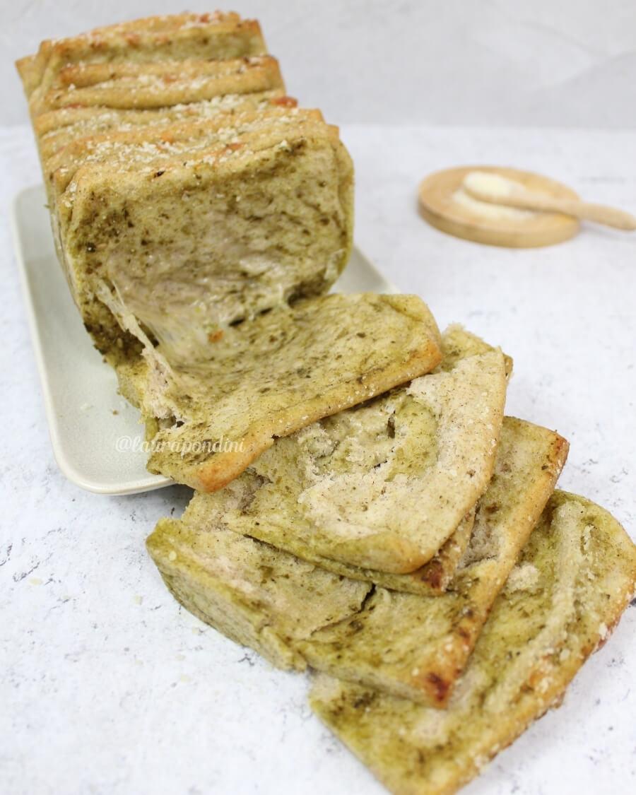 Pull apart bread ricetta pesto fiordilatte