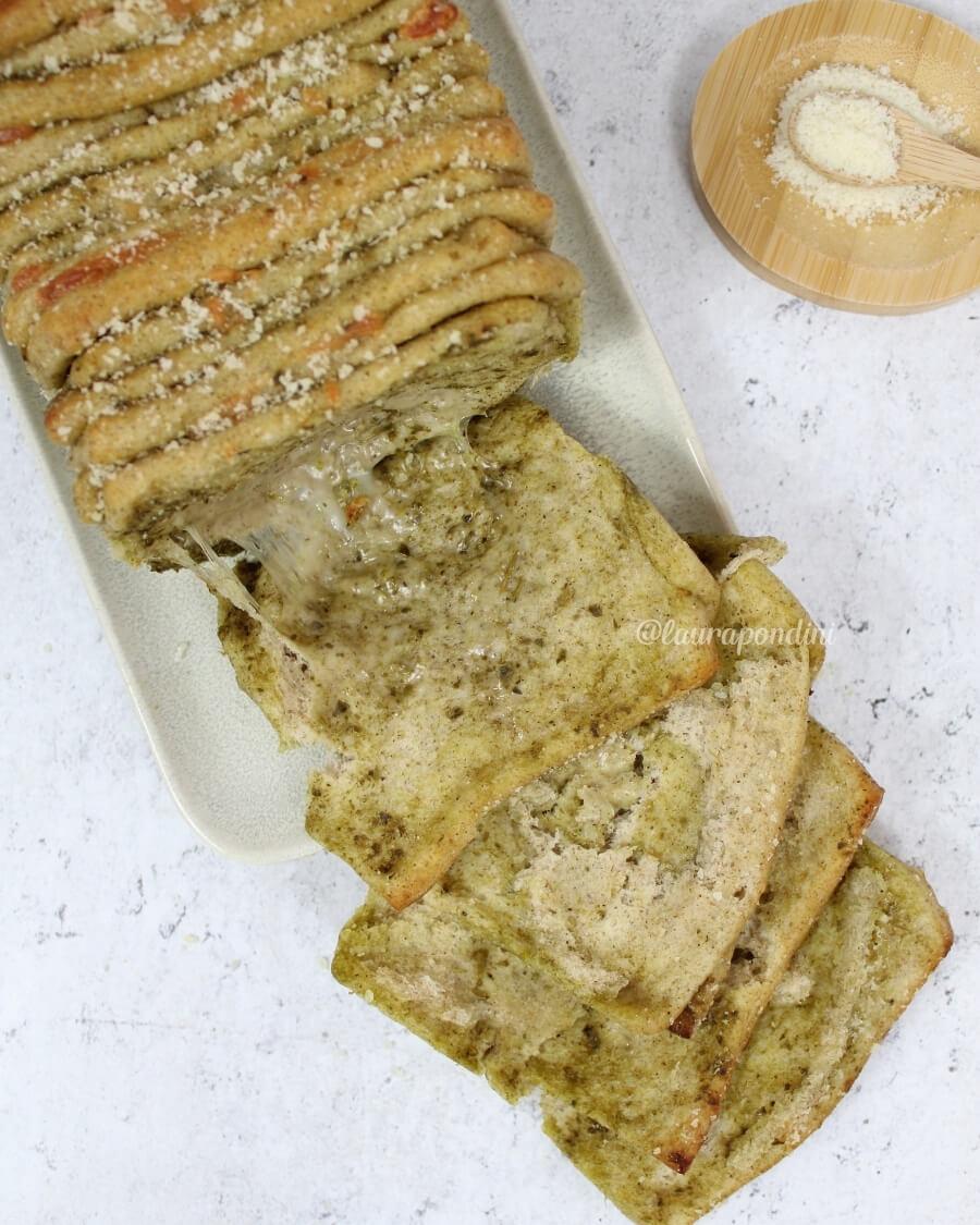 Pull apart bread ricetta senza burro