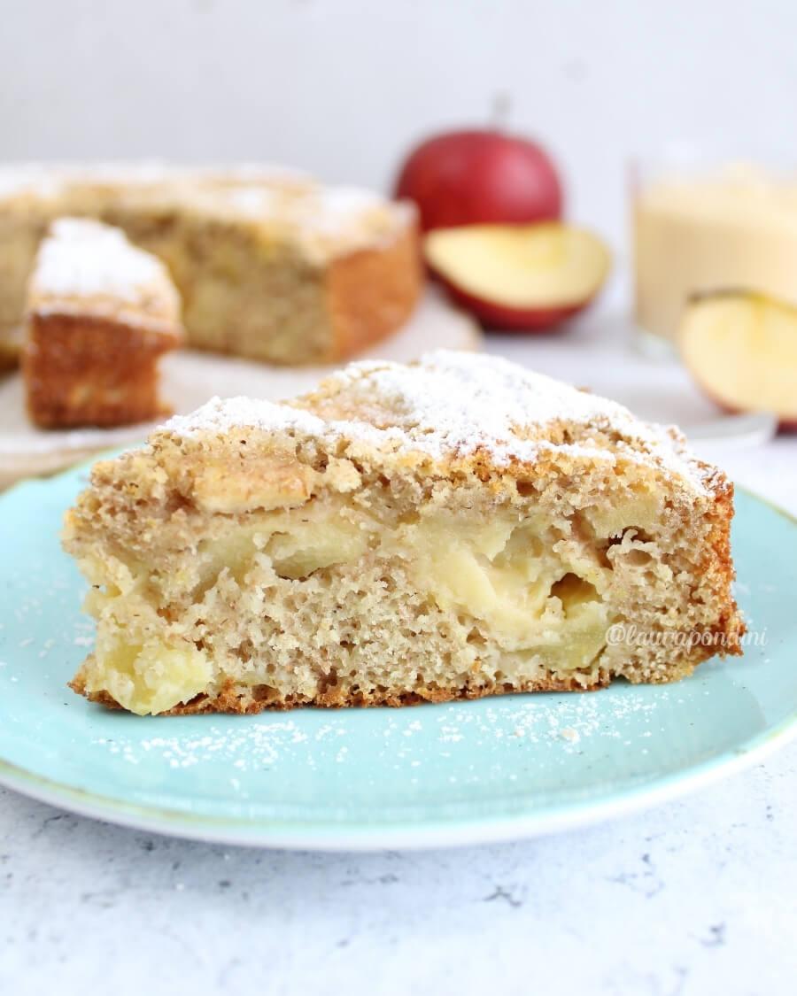 Torta di mele con crema pasticcera ricetta