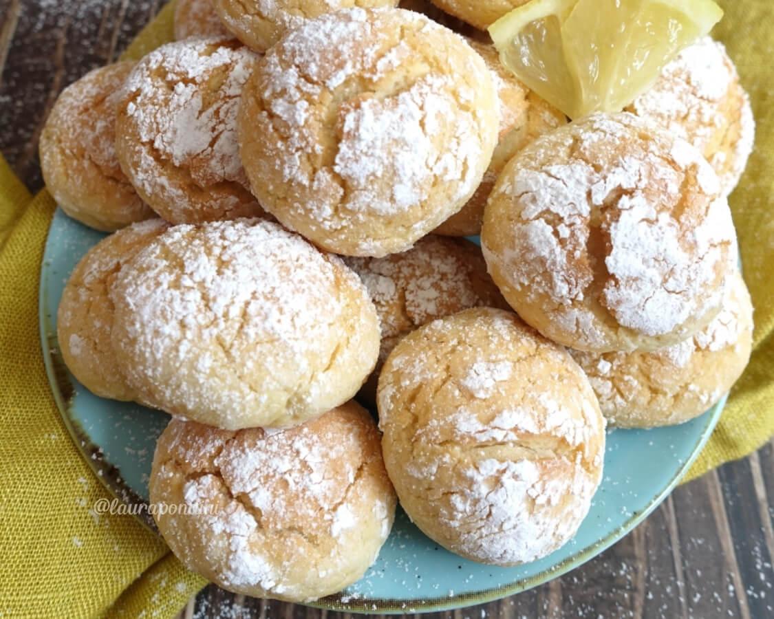 Biscotti morbidi al limone: la Ricetta fit semplice e veloce