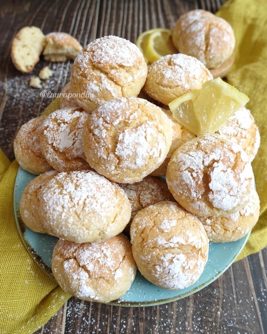 Biscotti morbidi limone ricetta