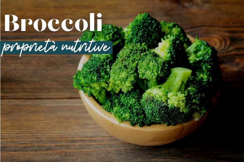 broccoli proprietà nutritive