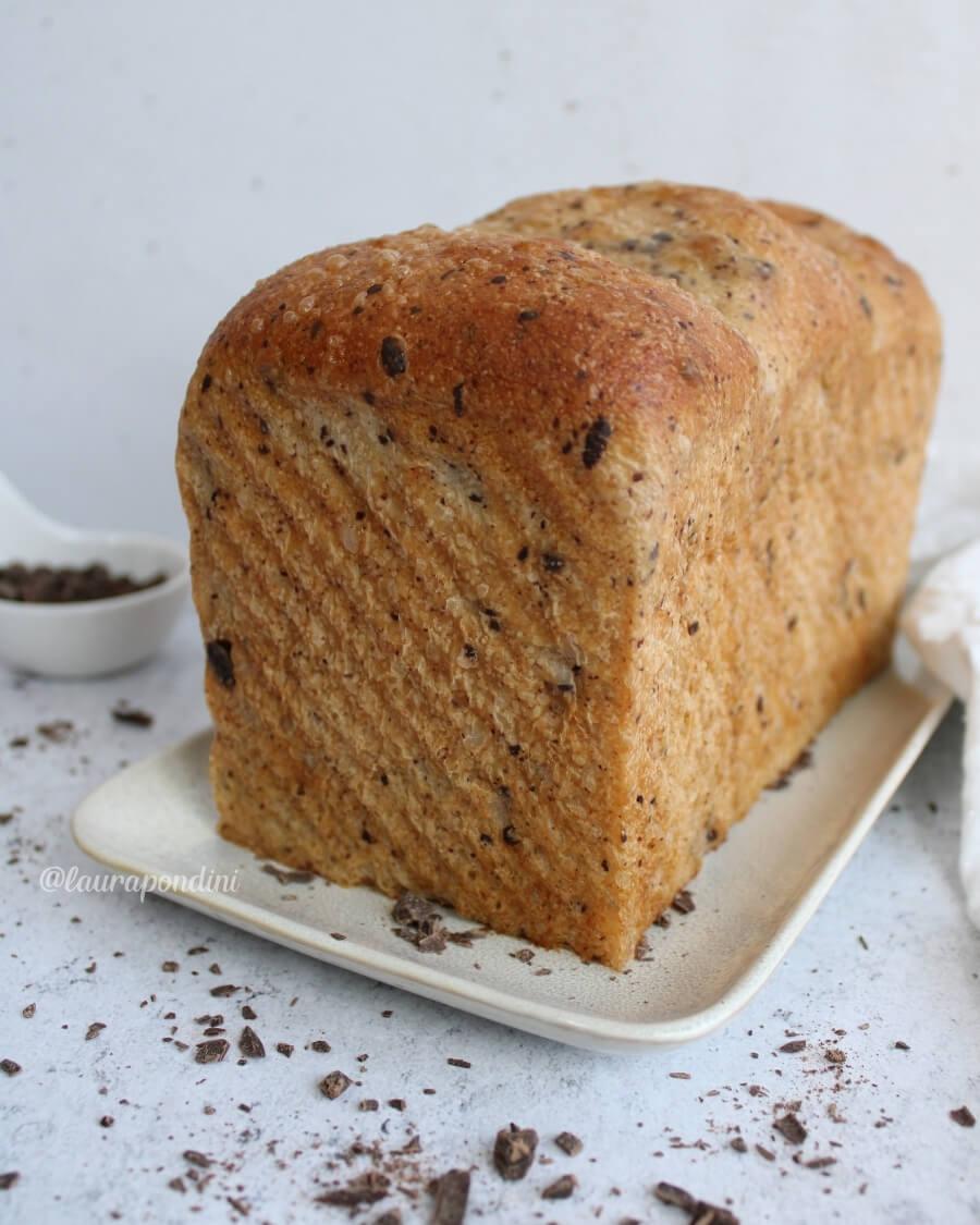 Pan brioche cioccolato esubero
